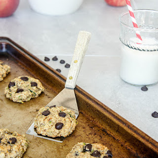 Gluten Free Zucchini Chocolate Chip Oatmeal Cookies