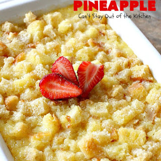 BAKED PINEAPPLE Recipe
