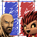 LinesFight- Boxes and dots icon