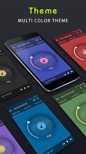 Music Equalizer & Bass Booster 1.3.8 screenshots 2