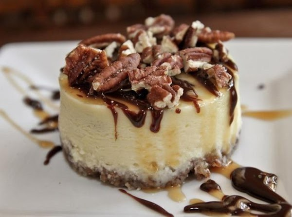 Pecan Cinnamon Crust:  Combine all ingredients and press into the bottom of a...