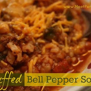 Recipe ~ Stuffed Pepper Soup.