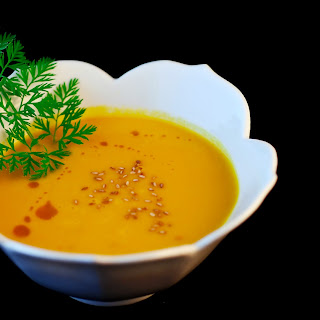 Spicy Gingered Carrot Soup