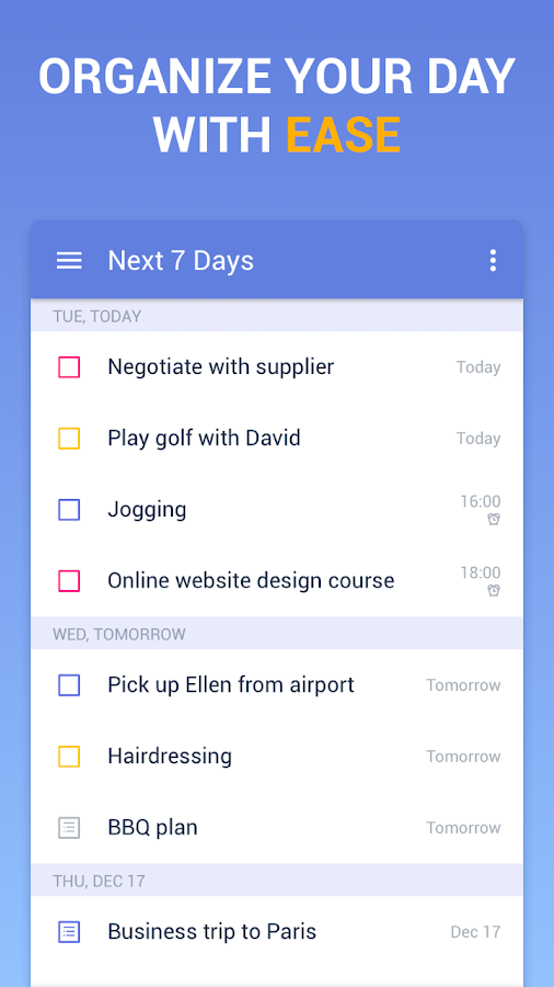 TickTick: To Do List with Reminder, Day Planner- screenshot