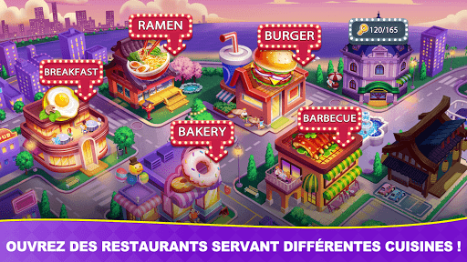 Télécharger Jeux culinaires Chef Toqué/Cooking Frenzy: Madness  APK MOD (Astuce) screenshots 2