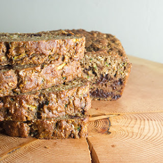 Chocolate Chip Coconut Zucchini Bread