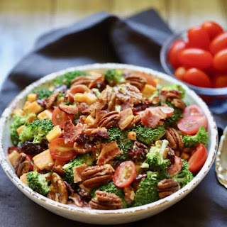 Easy Southern Broccoli Salad Recipe