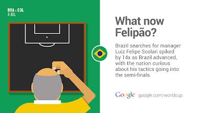 Photo: Brazil's talking tactics. #BRA #GoogleTrend http://goo.gl/Fxad0A