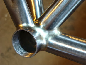 Photo: Super smooth fillet bottom bracket.