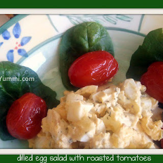 Dilled Egg Salad with Roasted Tomatoes