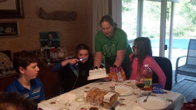 Photo: It was Julia's birthday so we had cake!