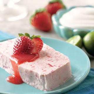 Strawberry and Lime Semifreddo Recipe