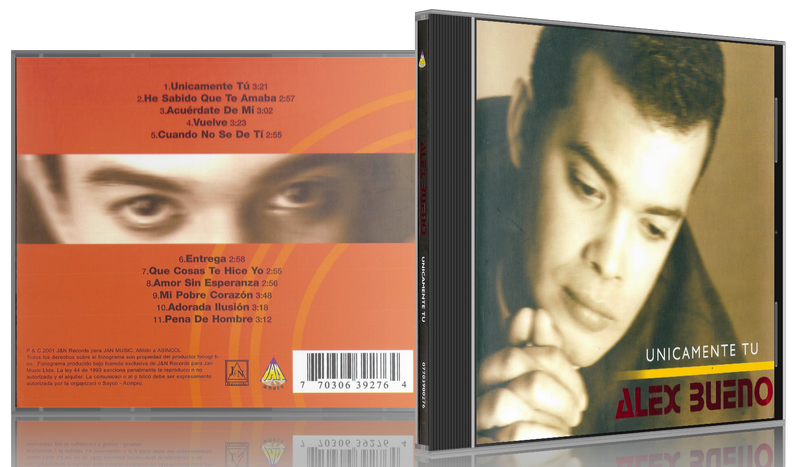 Alex Bueno - Unicamente Tú (2001) [MP3 @320 Kbps]