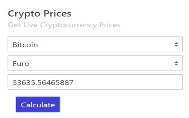 Crypto Price Checker