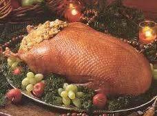 Roast Goose With Fruit Stuffing Recipe
