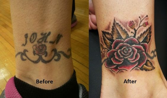 071c47ae6 60 Amazing Cover Up Tattoos Pictures Before And After You Won't ...