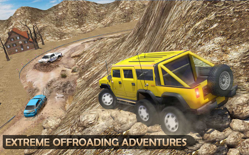 Extreme Offroad Mud Truck Simulator 6x6 Spin Tires 2.4 screenshots 6