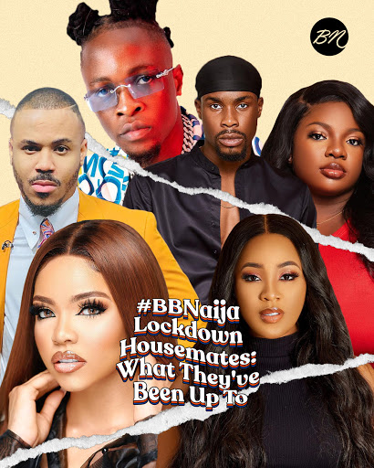 #BBNaija Lockdown Housemates: What They've Been Up To