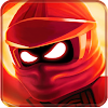 The Red Ninja Go Warrior - Run and Fight