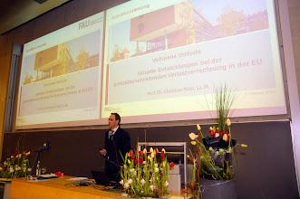 Photo: Eröffnungsvorlesung, Herr Prof. Dr. Rödl, WISO, FAU, Nürnberg, Deutschland