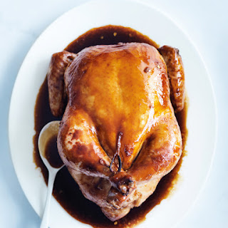 Ginger And Soy Roast Chicken.