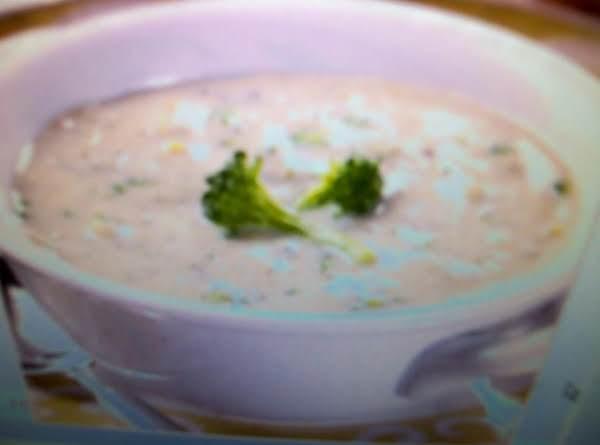Creamy Fresh Broccoli Soup By Freda Recipe