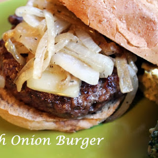 French Onion Burger Recipe
