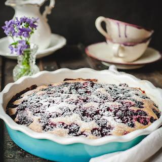 Wild Blackberry Tea Cake