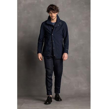 Oscar Jacobson Grayson coat mörkblå