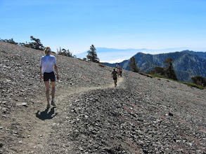 Photo: Looking east from the flank of Mt. Harwood toward Telegraph Peak