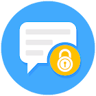 Privacy Messenger - SMS & MMS & Free text icon