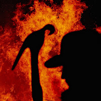 Il rosso del fuoco di