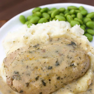 Slow Cooker Creamy Ranch Pork Chops