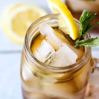 Peach Tea Mint Juleps Recipe