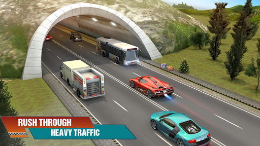 Crazy Car Traffic Racing Games 2020: New Car Games apkslow screenshots 6