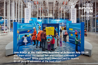 Photo: Join KQED at the California Academy of Sciences July 22-28. Show your KQED MemberCard to receive $3 off general admission at the front door! http://ow.ly/n8Xhb
