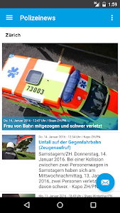 Schweiz Polizei News screenshot 2