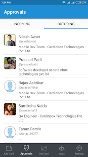 Cardinbox - Easily share your business cards.- screenshot thumbnail