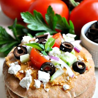 Mediterranean Pita Bites