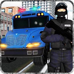 Prison Bus Police Transporter for PC and MAC