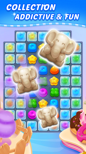 Sweet Candy Puzzle: Crush & Pop Free Match 3 Game apkdebit screenshots 4