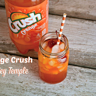 Orange Crush Shirley Temple.