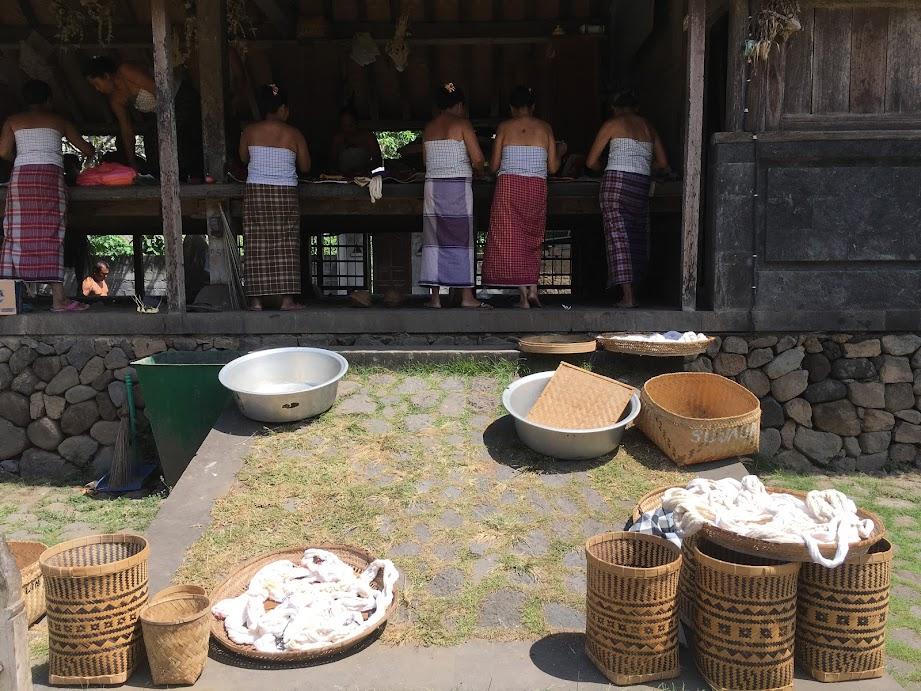 The ladies of Tenganan Village, Bali