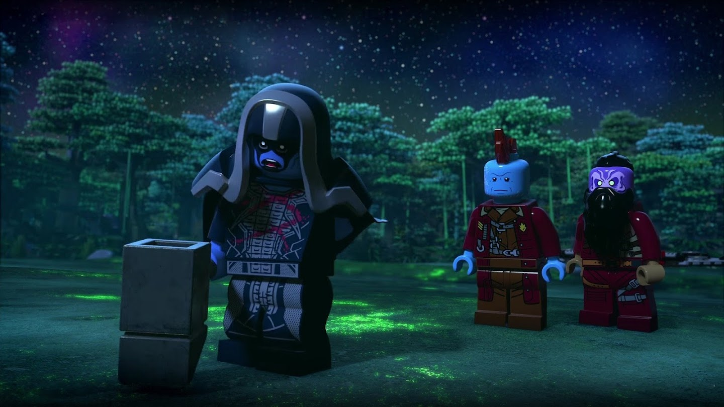 Lego Marvel Super Heroes - Guardians of the Galaxy: The Thanos Threat Shorts