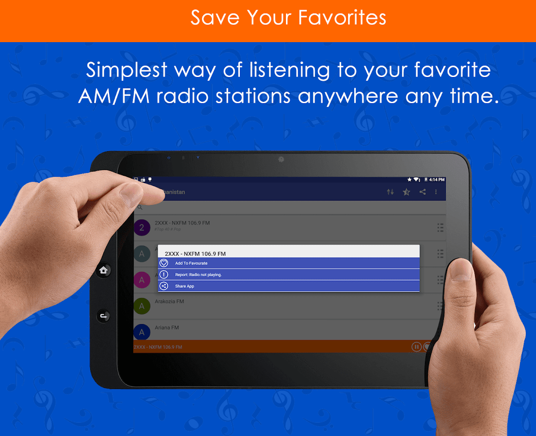 All FM Radio- screenshot