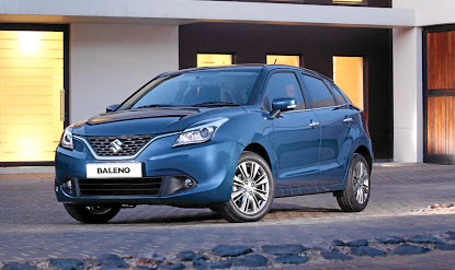 The Baleno features a different styling direction for Suzuki. Picture: MOTORPRESS