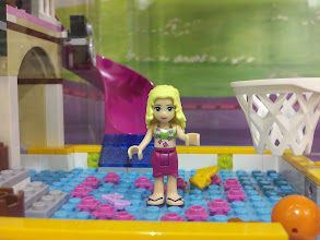 Photo: The new Lego Friends line teaches girls about friendship, fine motor skills, and walking on water.