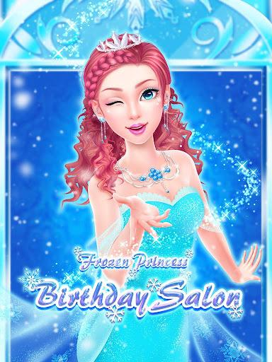 冰雪世界沙龍:皇家公主生日派對