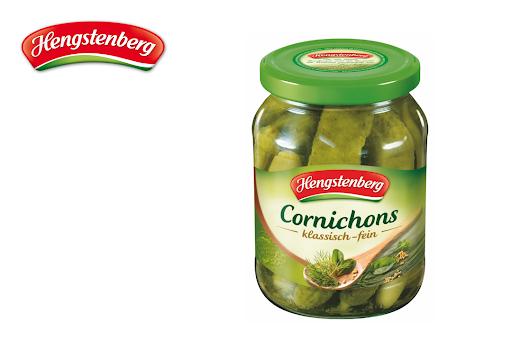 Bild für Cashback-Angebot: Hengstenberg Cornichons klassisch-fein - Hengstenberg