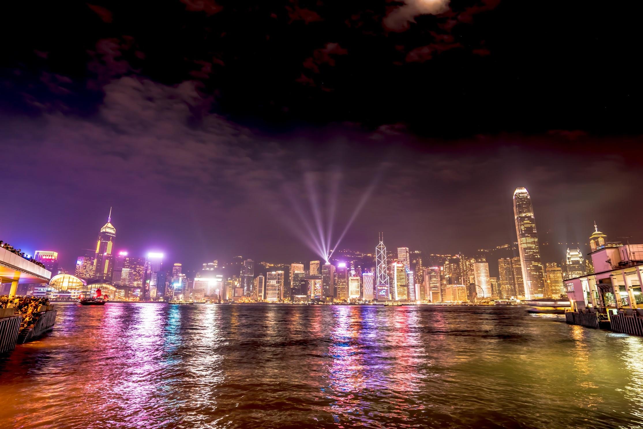 香港 シンフォニー・オブ・ライツ1